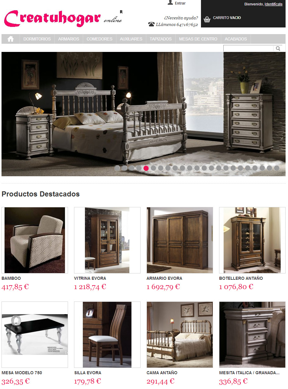 tienda online de muebles