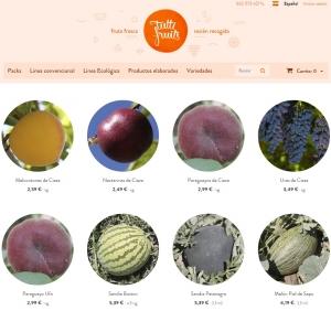 tienda online de fruta