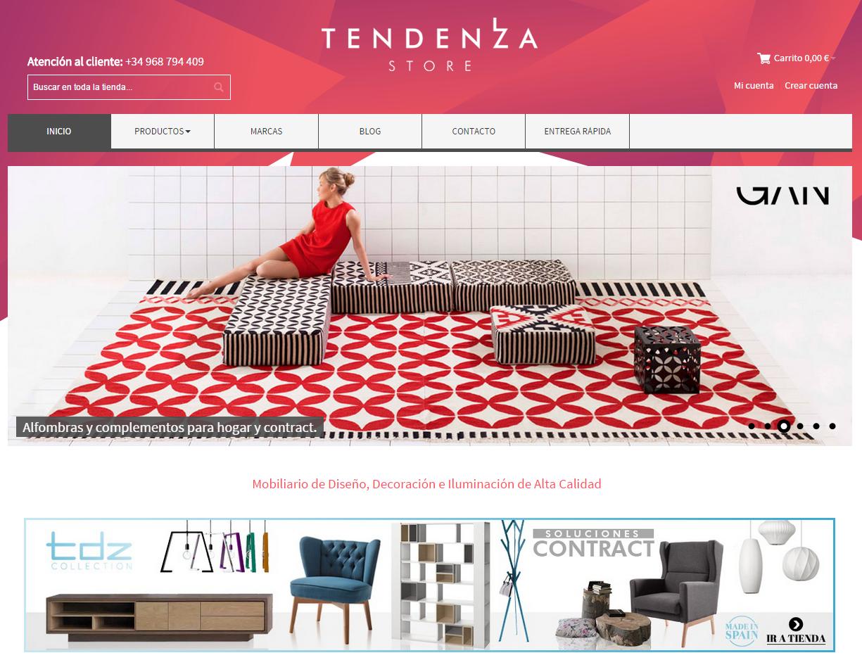 Tendenza Store tienda online de mobiliario de diseño